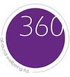 360 All round wellbeing Sticky Logo