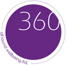 360 All round wellbeing Logo